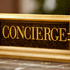 a concierge sign